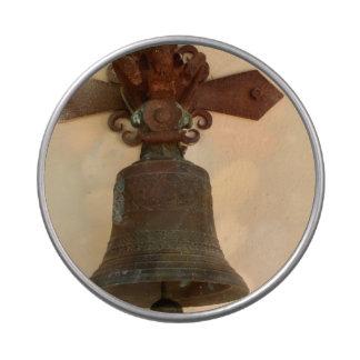Bell oxidada jarrones de caramelos