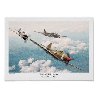 Bell P-39 Airacobra Poster