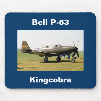 Bell P-63 Kingcobra Mouse Pad