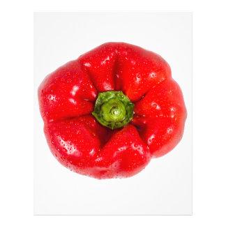 Bell pepper. letterhead