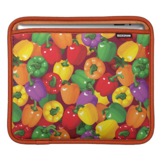 Bell Pepper Pattern Sleeve For iPads