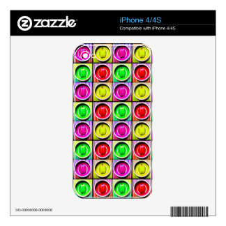 Bell Pepper Rainbow Decal For The iPhone 4