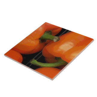 Bell Peppers at the Market Tile