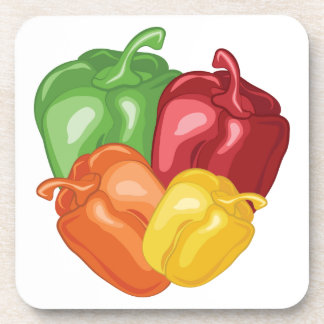 Bell Peppers Beverage Coaster