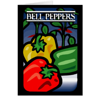 Bell Peppers Card
