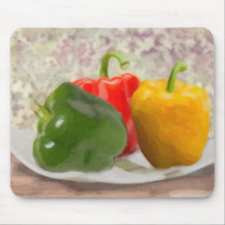 Bell Peppers Mouse Pad