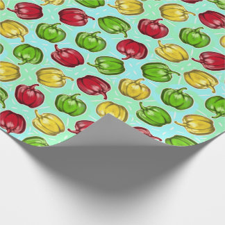 Bell Peppers Pattern Wrapping Paper