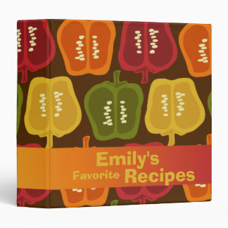 Bell Peppers Recipe Binder