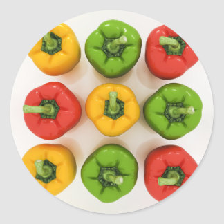 Bell Peppers Stickers