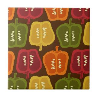 Bell Peppers Tile Trivet