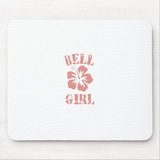 Bell Pink Girl Mousepads
