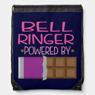 Bell Ringer Chocolate Gift for Woman Cinch Bag