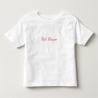 Bell Ringer/Wedding Information Toddler T-shirt