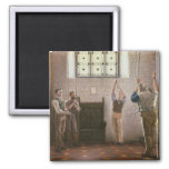 Bell Ringers 2 Inch Square Magnet