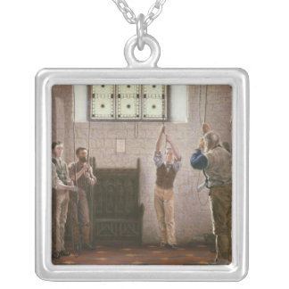 Bell Ringers Silver Plated Necklace