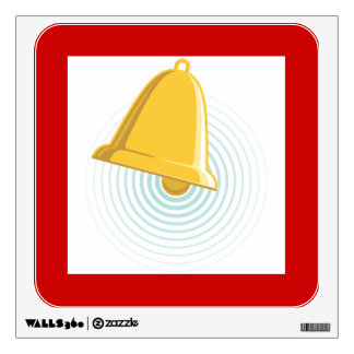 Bell Ringing Sign Wall Decal