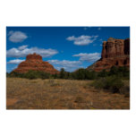 Bell Rock and Courthouse Butte 6533 Poster