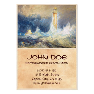 Bell Rock Lighthouse Joseph Mallord William Turner Large Business Cards (Pack Of 100)