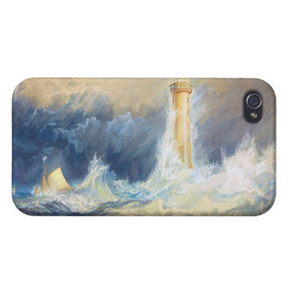 Bell Rock Lighthouse Joseph Mallord William Turner iPhone 4 Cases