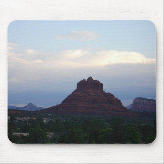 Bell Rock on a cloudy day - Sedona, AZ Mouse Pad