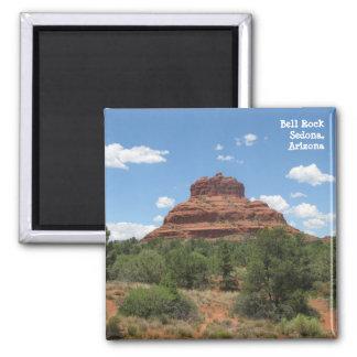 Bell Rock, Sedona, Arizona 2 Inch Square Magnet