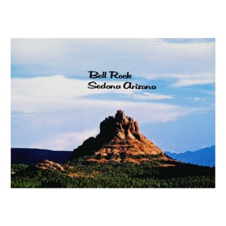 Bell Rock Sedona Arizona Poster