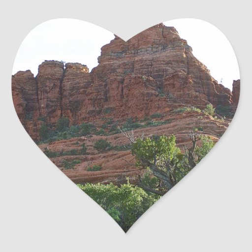 Bell Rock Sedona Heart Sticker