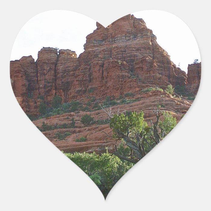 Bell Rock Sedona Heart Sticker