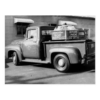 Bell Telephone Truck Dyersburg Tennessee Postcard