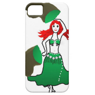 bell the belly dancer green mermaid sereia iPhone SE/5/5s case