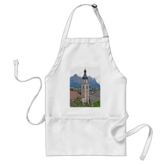 Bell tower Castelrotto Adult Apron