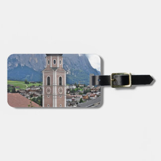 Bell tower Castelrotto Tag For Luggage
