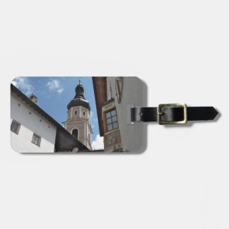 Bell tower Castelrotto Bag Tag