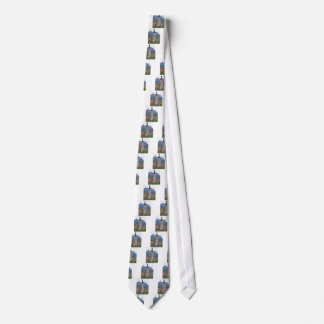 Bell tower Castelrotto Neck Tie