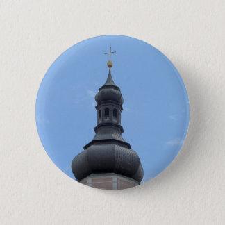 Bell tower Castelrotto Pinback Button