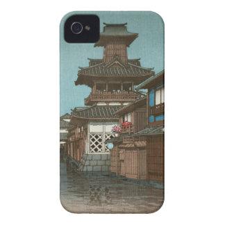 Bell Tower in Okayama Hasui Kawase shin hanga iPhone 4 Cover