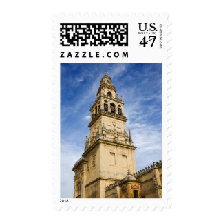 Bell Tower of the Mezquita Cathedral in Cordoba Postage