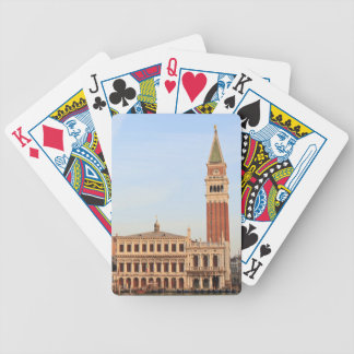 Bell Tower, Piazza San Marco, Venice Bicycle Playing Cards