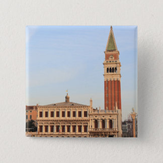Bell Tower, Piazza San Marco, Venice Button