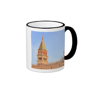 Bell Tower, Piazza San Marco, Venice, Italy Ringer Coffee Mug