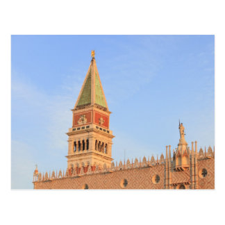 Bell Tower, Piazza San Marco, Venice, Italy Postcard