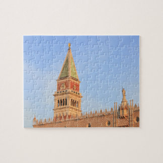 Bell Tower, Piazza San Marco, Venice, Italy Jigsaw Puzzle
