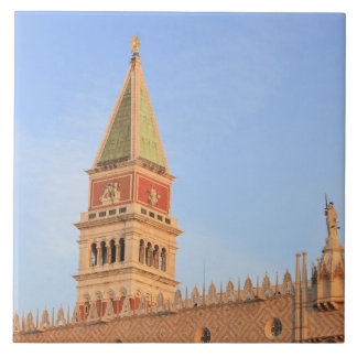 Bell Tower, Piazza San Marco, Venice, Italy Tile