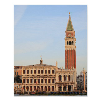 Bell Tower, Piazza San Marco, Venice Poster