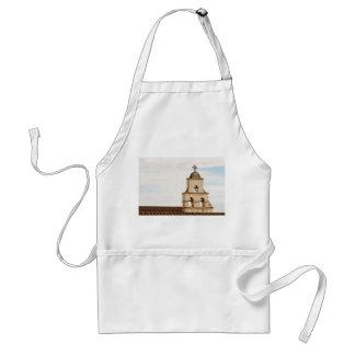 Bell Tower Santa Barbara Mission Adult Apron