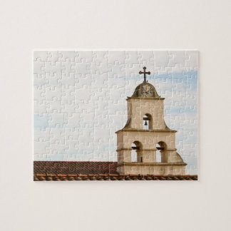 Bell Tower Santa Barbara Mission Jigsaw Puzzles