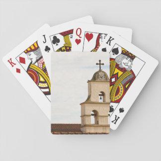Bell Tower Santa Barbara Mission Poker Cards
