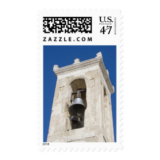 Bell tower stamp