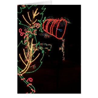 Bell Tree Light Sculpture Card