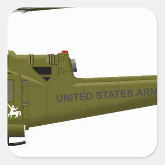 Bell UH-1 Centaur Square Sticker